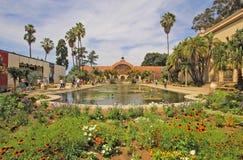 Botaniska trädgårdar Balboa parkerar, San Diego Arkivfoto