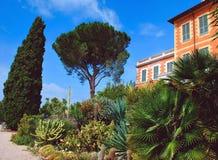 Botaniska trädgårdar Hanbury Royaltyfria Foton