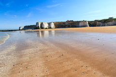 Botany Bay Broadstairs Kent England. Botany Bay beach at Broadstairs on the Kent Coastline England UK stock photography