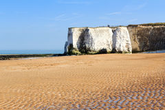 Botany Bay Broadstairs Kent England. Botany Bay beach at Broadstairs on the Kent Coastline England UK royalty free stock photography