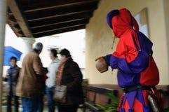 Botarga of RAZBONA  Carnival. SPAIN Royalty Free Stock Photos