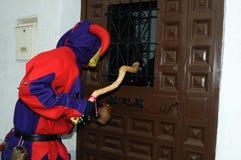 Botarga of RAZBONA  Carnival. SPAIN Stock Photography