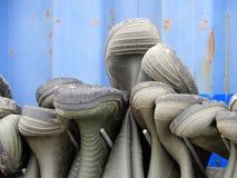 Botas da pesca Imagens de Stock Royalty Free