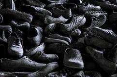 Botas de borracha usadas Imagem de Stock