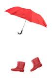 Botas de chuva fotos de stock