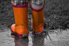 Botas de chuva Imagem de Stock Royalty Free