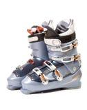 Botas de esquiar Imagen de archivo libre de regalías