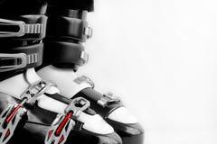 Botas de esquiar Foto de archivo libre de regalías