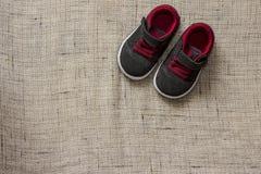 Botas del bebé Foto de archivo