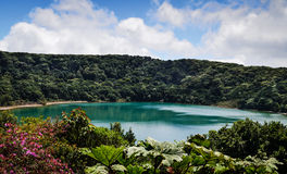 Botas Lake, Costa Rica Royalty Free Stock Images