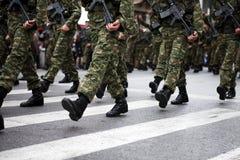 Botas militares Imagens de Stock
