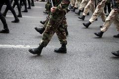 Botas militares Fotos de Stock