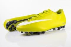 Botas Nike Soccer Imagens de Stock