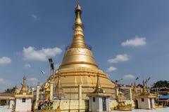 Botataung塔,仰光,缅甸 库存图片