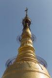 Botataung塔,仰光,缅甸 图库摄影