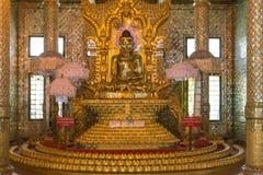 Botataung塔,仰光,缅甸 免版税库存照片
