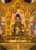 Botataung塔,仰光,缅甸 免版税库存图片
