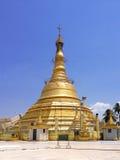 Botataung塔仰光 免版税库存照片