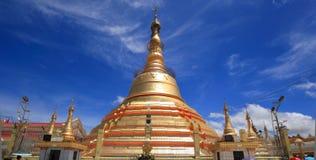 botataungmyanmar pagoda rangoon yangon Royaltyfri Foto