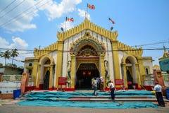Botataungpagode in Yangon (Rangoon), Myanmar Stock Foto