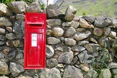 Boîte aux lettres anglaise Image libre de droits
