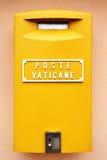 Boîte aux lettres de Vatican Images libres de droits