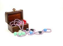 Boîte à bijoux Photo stock