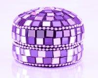Boîte à bijoux de mosaïque Photo stock