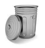 Bote de basura Imágenes de archivo libres de regalías