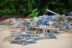 Bote de la basura Foto de archivo libre de regalías