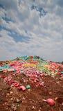 Bote de la basura Fotos de archivo libres de regalías