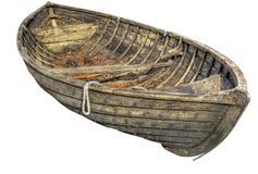Bote de remos tradicional viejo. Fotos de archivo