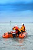 Bote de salvamento de la bahía de Dublín   Imagen de archivo