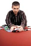 Bote del póker Foto de archivo