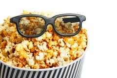 Boîte à maïs éclaté Photo libre de droits
