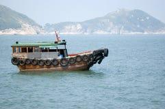 Bote pequeño en Hong-Kong Fotos de archivo