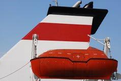 Bote salvavidas Foto de archivo