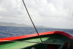 Bote salvavidas en el St. del transbordador vincent fotografía de archivo libre de regalías