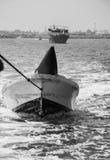 Bote salvavidas en Musandam Fotos de archivo libres de regalías