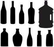 Botella Stock de ilustración