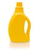 Botella amarilla. Fotografía de archivo libre de regalías
