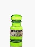 Botella arsénica Imágenes de archivo libres de regalías