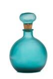 Botella azul Fotos de archivo libres de regalías
