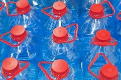 Botella azul Imagenes de archivo