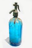 Botella clásica del seltzer Imágenes de archivo libres de regalías
