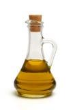 Botella con aceite Fotografía de archivo