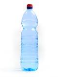 Botella con agua Imagen de archivo libre de regalías