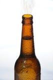 Botella con la condensación Imagen de archivo libre de regalías