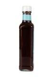 Botella con la salsa Imagen de archivo