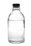 Botella con salino Imagen de archivo libre de regalías